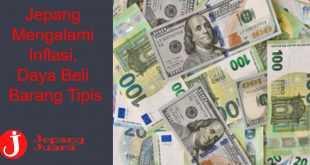 Jepang Mengalami Inflasi, Daya Beli Barang Tipis