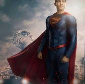 Superman & Lois bersama anak kembarnya